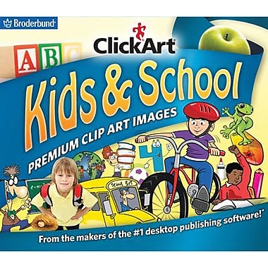 Broderbund ClickArt Kids & School for Windows (1 User) [Download]