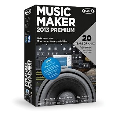 MAGIX Music Maker Premium for Windows (1 User) [Download]