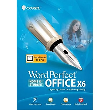 Corel WordPerfect Office X6 Home & Student for Windows (1 User) [Download]