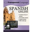 Transparent Language Online Spanish - 12 Months for Windows/Mac (1 User) [Download]