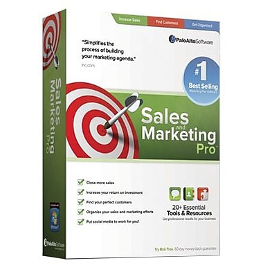 Palo Alto Software Sales and Marketing Pro for Windows (1-2 Users) [Download]
