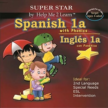 Encore Super Star Spanish With Phonics for Windows (1 User) [Download]