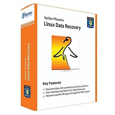 Stellar Phoenix Linux Data Recovery for Windows (1 User) [Download]