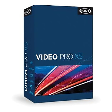 MAGIX Video Pro X5 US for Windows (1 User) [Download]
