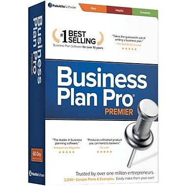 Palo Alto Software Business Plan Pro Premier for Windows (1-2 Users) [Download]
