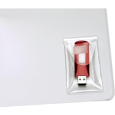 Cardinal HOLDit! USB Pockets, Clear, 2