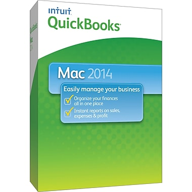 QuickBooks 2014 for Mac (1 User) [Boxed]