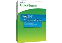 QuickBooks Pro 2014 for Windows (1 User) [Boxed]