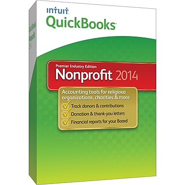 QuickBooks Premier Non-Profit 2014 for Windows (1-User) [Boxed]