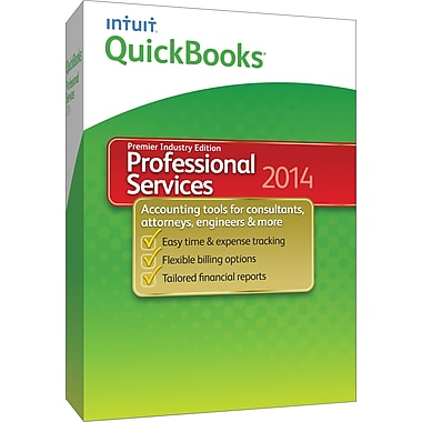 QuickBooks Premier Professional Services 2014 for Windows (1-User) [Boxed]