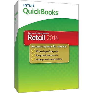 QuickBooks Premier Retail 2014 for Windows (1-User) [Boxed]