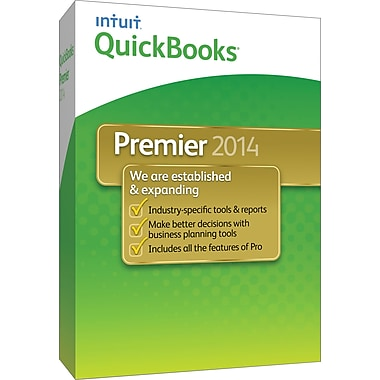 QuickBooks Premier 2014 for Windows (1-User) [Boxed]