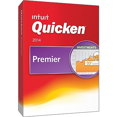 Quicken Premier 2014 for Windows (1 User) [Boxed]