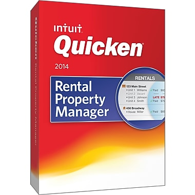 Quicken Rental Property Manager 2014 for Windows (1 User) [Boxed]