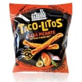 Tacos-Litos Rolled Tortilla Chips, Salsa Picante, 12 Bags/Box