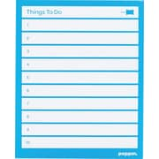 Poppin Task Pads, Pool Blue, Set of 3 (100048)