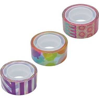 Scotch® Expressions Magic™ Pattern Tape, 3/4