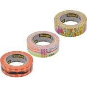 """Scotch® Expressions Washi Pattern Tape, 3/5"""" x 393"""""""