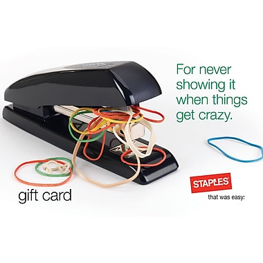 Staples Crazy GC $25