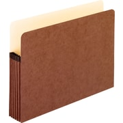 """Earthwise® Pendaflex® 100% Recycled Expanding Pockets, Letter, 5 1/4"""" Expansion, 10/Bx"""