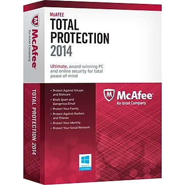 McAfee Total Protection 2014 (1-3 User) [Boxed]