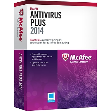 McAfee AntiVirus Plus 2014 (1-3 User) [Download]