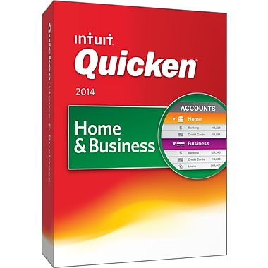 Quicken Home & Business 2014 for Windows (1 User) [Boxed]