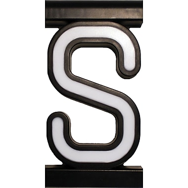 Mystiglo Create-A-Sign - Letter S
