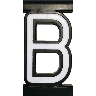 Mystiglo Create-A-Sign Letter B