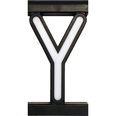 Mystiglo Create-A-Sign - Letter Y