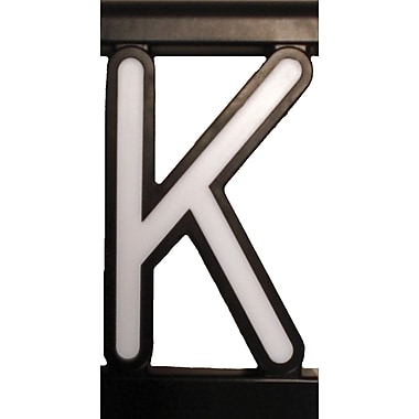 Mystiglo Create-A-Sign - Letter K