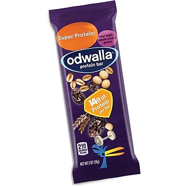 Odwalla® Super Protein Bar, 2 oz. Bar, 15 Bars/Pack