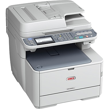 Oki MC562w Color Laser All-in-One Printer
