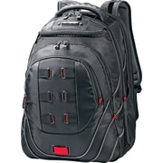 Samsonite Tectonic PFT Black/Red Fabric Laptop Backpack (51531-1073)