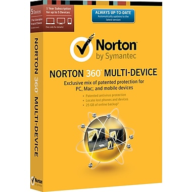 Norton 360 Multi-Device (1-5 user) (download)