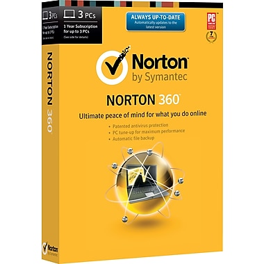 Norton 360 for Windows (1-3 user) (download)