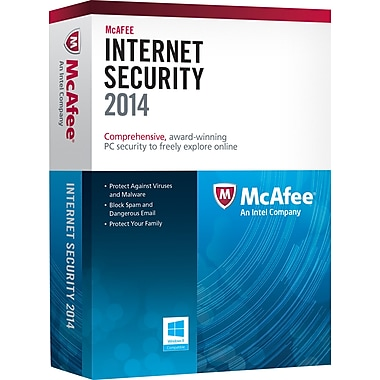 McAfee Internet Security 2014 (1-3 User) [Boxed]