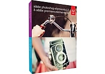 Adobe Photoshop & Premiere Elements 12 [Boxed]