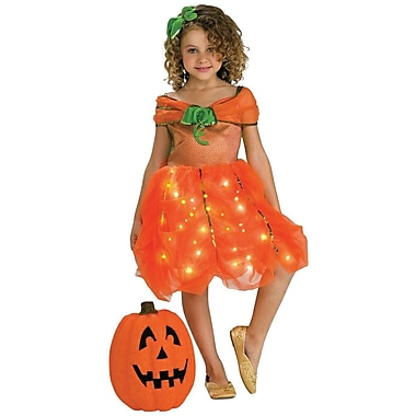 Rubie's Twinklers, Pumpkin Princess Child Costume, Medium