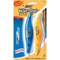 BIC® Wite-Out® Brand Exact Liner® Correction Tape, 2/Pack