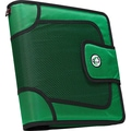 Case•it S-816 2in. Green Binder with Built-in Expandable File