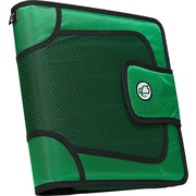 Case•it S-816 2 Green Binder with Built-in Expandable File