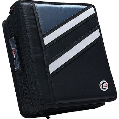 Case•it Z-176  1 1/2in. 2-in-1 Zipper Binder