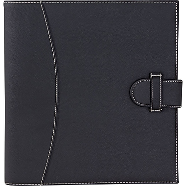 It's Academic Executive 1in. D-Ring Black Binder/Organizer