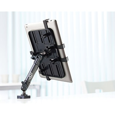 The Joy Factory Unite™ Universal Tablet Carbon Fiber C-clamp Mount