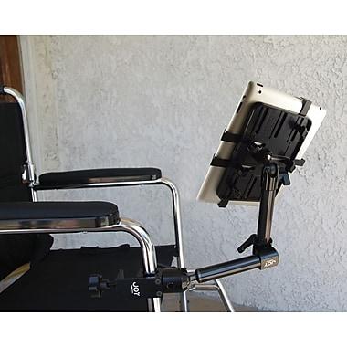 The Joy Factory Unite™ Universal Tablet Carbon Fiber Wheelchair Mount
