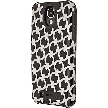 M-Edge Echo Case for Samsung Galaxy S4, Black/White Chain Link