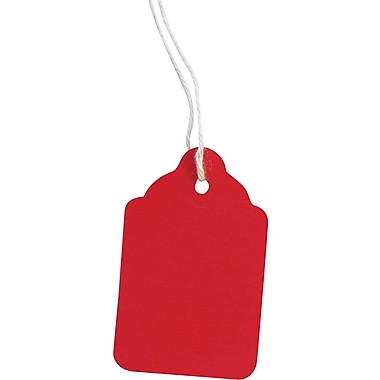Crownhill Retail Marking / Pricing Tag With String, 1-15/16