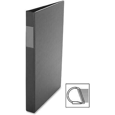 Davis – Reliure à anneaux en D en vinyle, 1 po, noir
