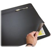 "Artistic Rhinolin Hide-Away Desk Pad, 31""W x 20""D, Foam Backing, Black"